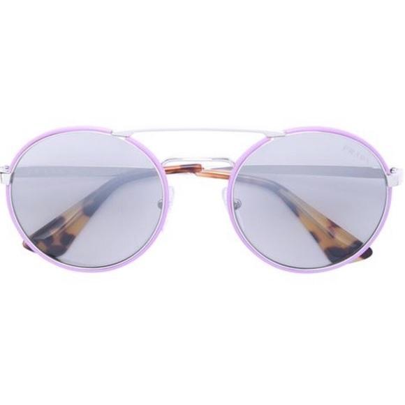 bf03ed4889 🔥NWT Prada 💕Cinema round wire frame sunglasses